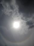 Random picture of sun halo, to illustrate randomness of bestselling success... sort of