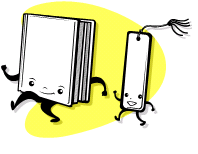 bookmark chasing book not creepy at all