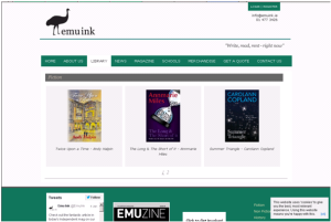 The Emu Ink Library is available online