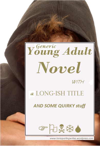 generic book cover for a young adult novel