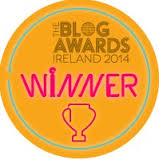 Blog Awards Ireland 2014 Winner - Best Newcomer