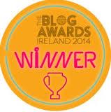 Blog Awards Ireland 2014 Winner - Best Newcomer