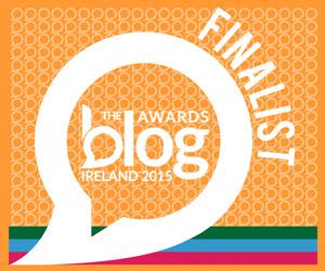 Blog Awards Ireland 2015 Finalist - Best Art and Culture