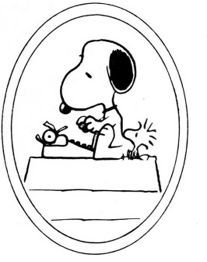 snoopy writing Description from snoopy's classic red doghouse to the baseball field, recreate your favorite peanuts locations with snoopy and friends start with a blank slate and set off on an adventure full of fun and imagination.