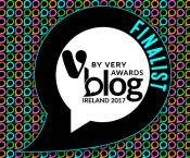 Blog Awards Ireland Finalist 2017