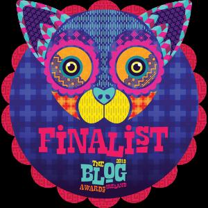 Blog Awards Finalist 2018
