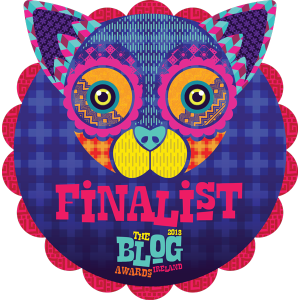 Blog Awards Finalist 2018
