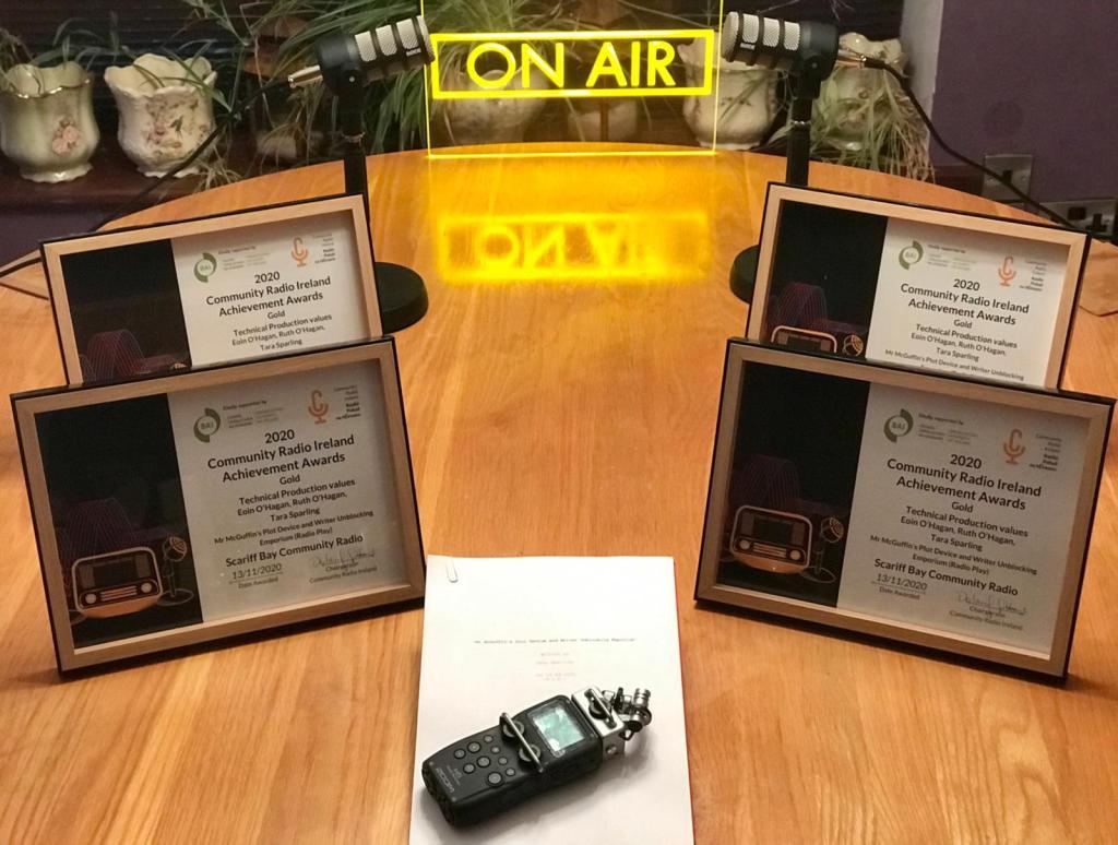 Mr McGuffin CRAOL radio award